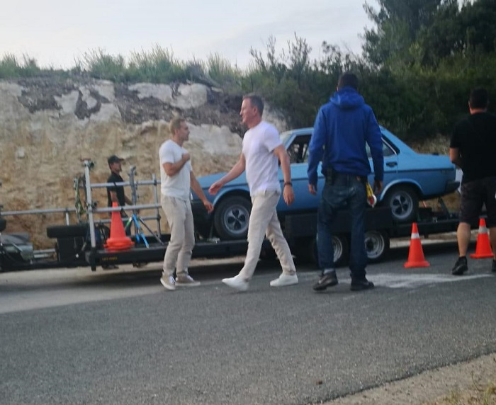 Tyreaction anuncio heineken daniel craig vs james bond advertisement 2020 picture vehicles vehiculos de escena spain 1