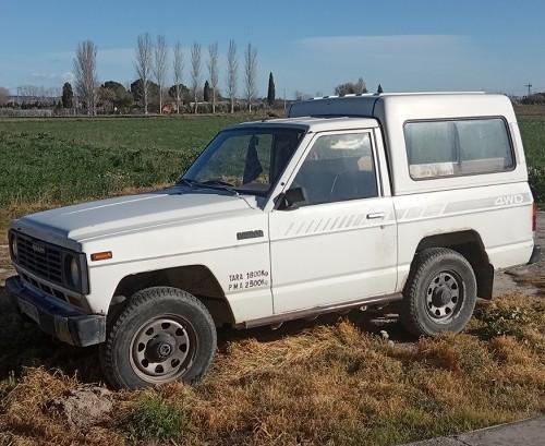 pm014 alquiler 4x4 nissan patrol corto tyreaction madrid vehículos de escena blanco front