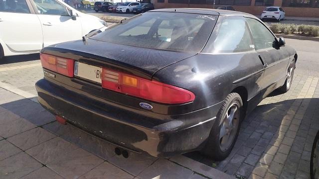pm014 alquiler Ford probe clasico vehículos de escena madrid tyreaction azul oscuro tras