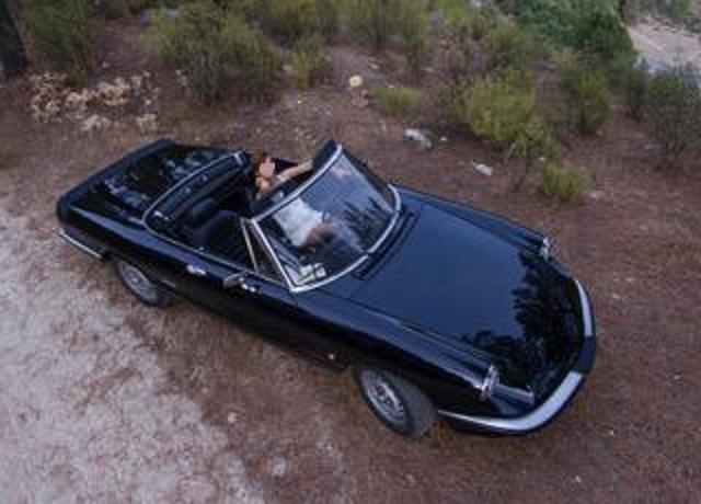pm014 alquiler alfa romeo spider descapotable italiano cabrio negro vehículos de escena madrid tyreaction alt
