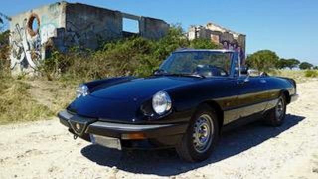 pm014 alquiler alfa romeo spider descapotable italiano cabrio negro vehículos de escena madrid tyreaction front 2