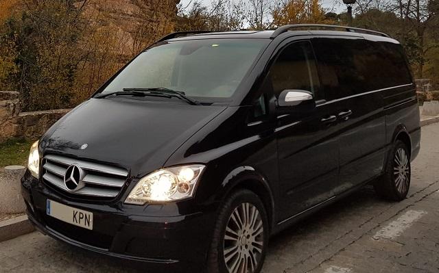 pm014 alquiler mercedes clase V Vito Viano vehículos de escena madrid negro front