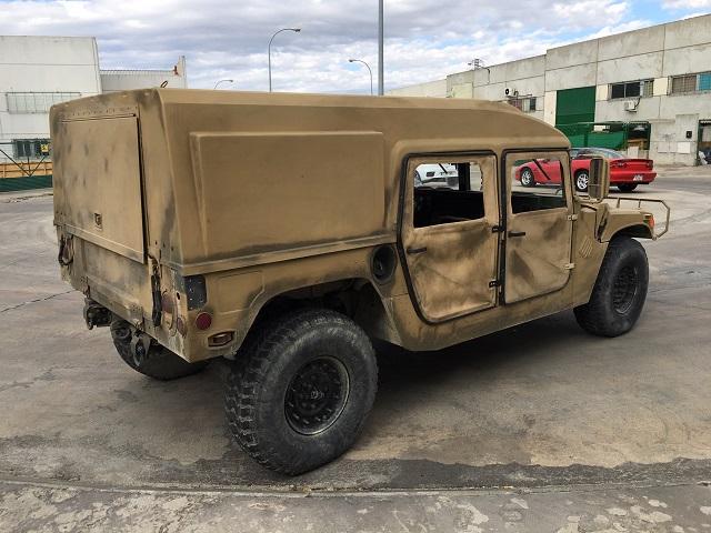 pm014 alquiler vehículo blindado americano hummer h1 militar humbee películas belicas español madrid tyreaction arena tras