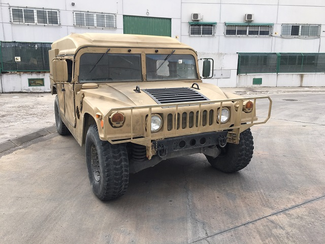 pm014 alquiler vehículo blindado americano hummer h1 militar humbee películas belicas español madrid tyreaction arena lat