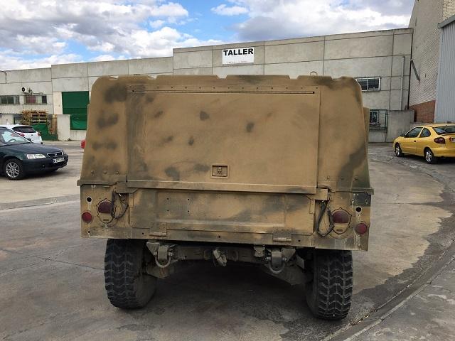 pm014 alquiler vehículo blindado americano hummer h1 militar humbee películas belicas español madrid tyreaction arena tras 2