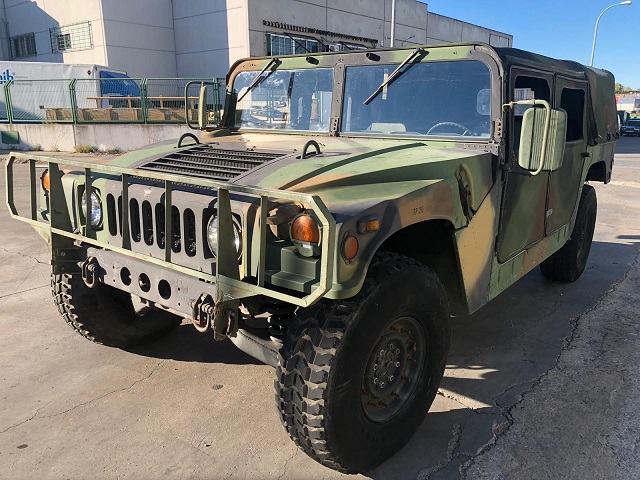 pm014 alquiler vehiculo blindado americano hummer h1 militar humbee películas belicas español madrid tyreaction verde lat