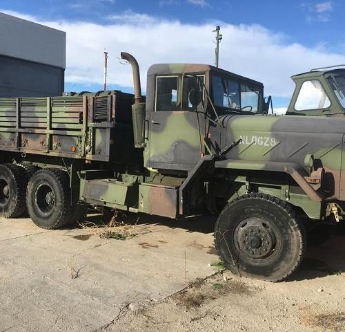 pm014 alquiler camión militar verde vehículos de escena bélicos madrid tyreaction front