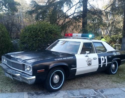 pm014 alquiler coche policía los angeles clasico americano madrid vehículos de escena películas de cine tyreaction negro front