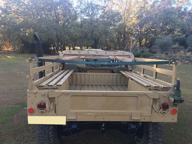 pm014 alquiler vehículo blindado americano hummer h1 militar humbee pickup películas belicas español madrid tyreaction arena tras