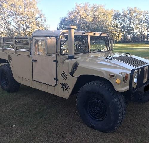 pm014 alquiler vehículo blindado americano hummer h1 militar humbee pickup películas belicas español madrid tyreaction arena front