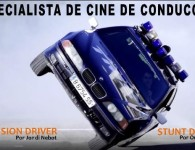 cartel especialista de cine conducción precision stunt driver tyreaction barcelona madrid muy interesante