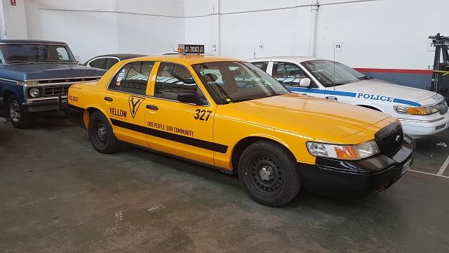 tyreaction desinfeccion coronavirus vehículos de escena barcelona alquiler taxi nueva york nyc amarillo vehículos de escena barcelona madrid crown victoria