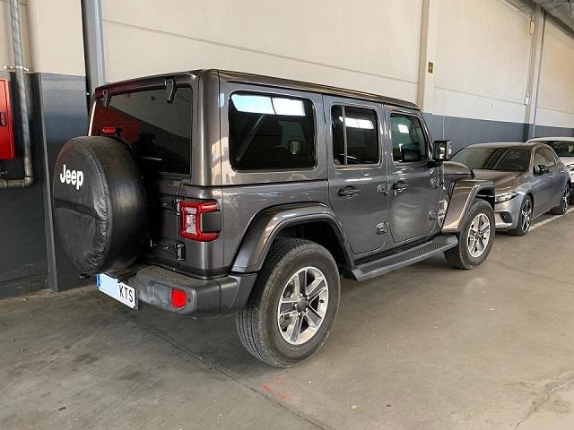 P0179 alquiler Jeep Wrangler barcelona gris tras lat