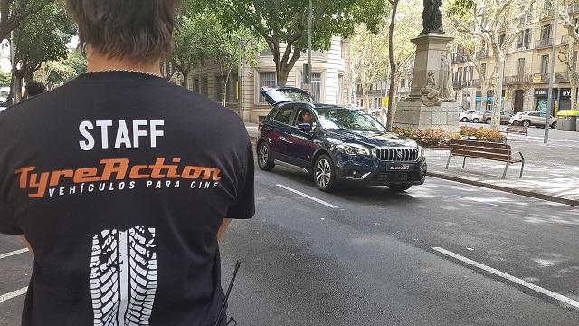 tyreaction behind scenes precision driver carcare anuncio suzuki barcelona 1