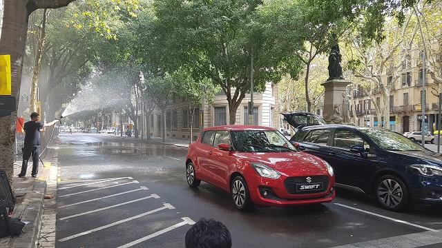 tyreaction behind scenes precision driver carcare anuncio suzuki barcelona 2