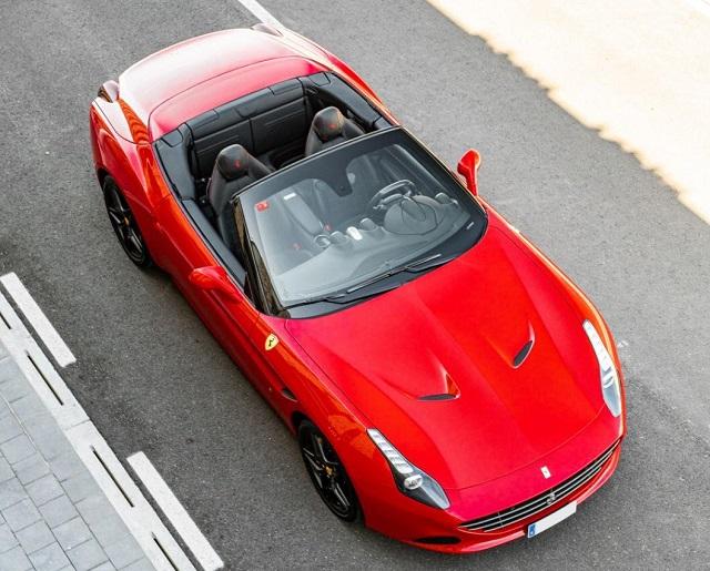 p0180 alquiler ferrari california descapotable rojo barcelona alt